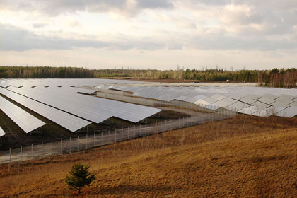 Neubau einer Photovoltaik-Anlage in Lauta mit 23,8 MWp